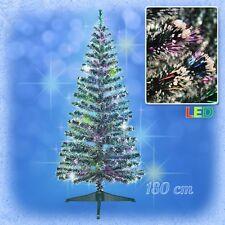 180 cm LED Weihnachtsbaum mit farbwechselnde Lichtfasern