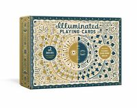 Illuminated Playing Cards 'Two Decks for Games and Tarot Keegan, Caitlin