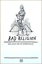 BAD RELIGION Age Of Unreason Tour 2019 Ltd Ed RARE New Poster +FREE Punk Poster