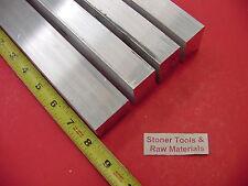 "4 Pieces 1"" X 1-1/2"" ALUMINUM 6061 T6511 FLAT BAR 8"" long 1.000 Plate Mill Stock"
