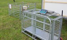 Sheep lamb weigher crate digital conversion kit waterproof