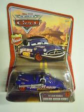 Disney pixar world of cars Pit crew mem Fabulous Hudson Hornet mattel raro 1:55