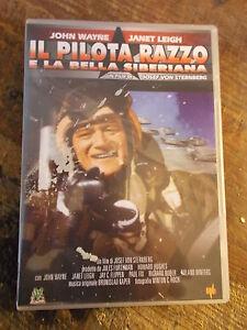 "DVD ""IL PILOTA RAZZO E LA BELLA SIBERIANA""  J. WAYNE"