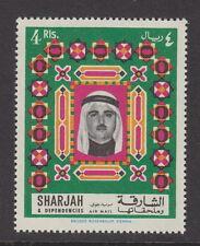 SHARJAH - 1968 4r. Air. Definitive (1v) - UM / MNH