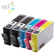 5 x 364 XL Compatible CHIPPED Ink for DeskJet 3070A Officejet 4610 4620 4622