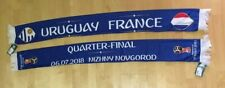 FIFA WORLD CUP RUSSIA 2018 Scarf URUGUAY vs FRANCE Match 57