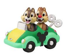 # New Precious Moments Disney Figurine Chip & Dale Chipmunk Birthday Car Parade