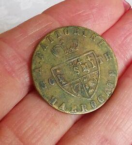 Goldsmith Harrogate A. Fattorini 1700s Token Coin