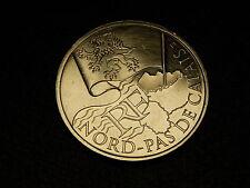 TRES  BELLE PIECE DE  10 EUROS DES REGONS 2010 NORD PAS DE CALAIS