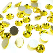 18 Swarovski 2088 crystal wholesale flatback rhinestones ss34 CITRINE (249)