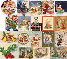 Vintage Christmas Greeting Cards CD V.6  390 Images