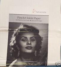 "Hahnemuhle Fine Art Inkjet Paper 10643276 305gsm 60""x39' Photo Rag Ultra Smooth"