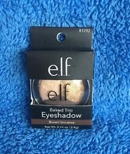 Elf Cosmetics Baked Trio Eyeshadow - Brown Bonanza - MELB STOCK
