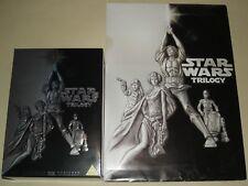 Star Wars Original Trilogy DVD Set & Very Rare Retail Store Press Kit Brochure