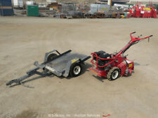 "2016 Barreto 918H 18"" Self Propelled Walk Behind Tiller w/ Trailer bidadoo"