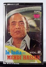 Mehdi Hassan - In India, Vol. 2 (Apple Cassette Tape Album) **Import, Singapore