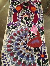 Handmade Embroidered Table runner otomi floral sunflower Bedding Throw Wall Art