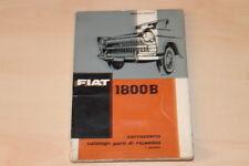 78337) Fiat 1800 B - Karosserie Ersatzteilkatalog 1962