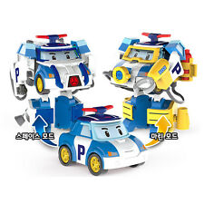 Robocar Poli Space Marine Pack Transformation Robot Car Character Toys