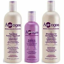 APHOGEE TWO STEP PROTEIN TREATMENT SHAMPOO FOR DAMAGE HAIR BALANCING MOISTURIZER