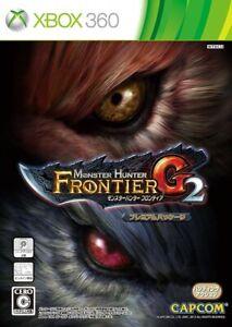 Xbox 360 Premium Package MONSTER HUNTER Frontier G2 / 16 Bonus+GMS JAPAN