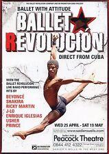 BALLET REVOLUCION Theatre Flyer Handbill