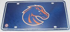 BOISE STATE BRONCOS LICENSE PLATE IDAHO UNIVERSITY FOOTBALL BSU SIGN L947