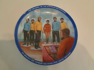 BEAM ME UP SCOTTY Star Trek Collection Plate by The Hamilton Collection Plate