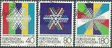 Timbres Sports d'hiver JO Liechtenstein 775/7 o lot 6370