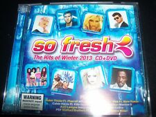 So Fresh Hits Of Winter 2013 CD DVD Ft Avril Lavigne Kesha Little Mix Pink & Mor