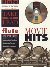 MOVIE FILM HITS Flute Sheet Music Book & Playalong CD Songbook Shop Soiled