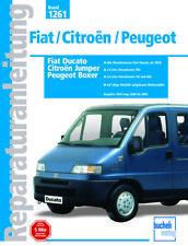 Fiat Ducato / Citroen Jumper Peugeot Boxer Reparaturanleitung 1994-02 Wohnmobil