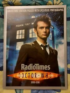 Rare Radio Times - Doctor Who Collector's Edition - 2005 - 2010