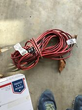 USED 16 gauge 50 ft extension cord 3 PRONG RED