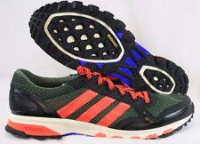 NEW Mens Sz 9 ADIDAS Adizero XT 5 B41019 Green Solar Red Trail Sneakers Shoes