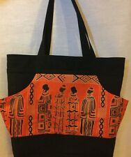 African Theme Tote
