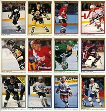 1990-91 O-Pee-Chee Premier 132 Hockey Card Hand Collated Complete Set