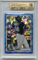 2020 Bowman Sapphire LUIS ROBERT BGS 10 - .5 from Black Label Chicago White Sox