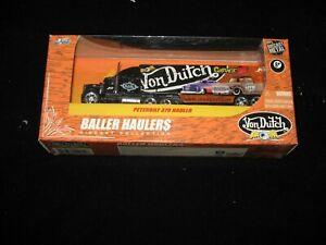 JADA 1:64 BALLER HAULER VON DUTCH GARAGE. AWESOME HARD TO FIND !!!
