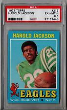 1971 Topps Harold Jackson #215 PSA 6.5 HS103