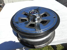 1965 corvette new gm rally wheel and hubcap with center