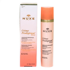 Nuxe Face Serum Creme Prodigieuse Boost Energising Priming Concentrate 100ml