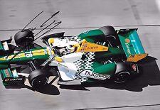 Simona de Silvestro SIGNED  12x8  HVM Racing Dallara-Lotus   2012  IZOD Indycar