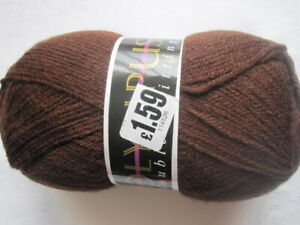 *** Craftroom Clear-Out *** - A 100g Ball of Olympus DK Yarn - Brown