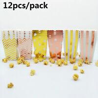 de décoration boîte de pop - corn sac en papier soirée à thème candy cas