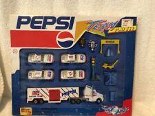 Golden Wheel Pepsi 1993 Die Cast Metal Team Play Set
