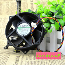 1X For  SUNON MagLev KDE1209PTVX 90/80x25mm CPU Round Cooling Fan 12V 4Pin