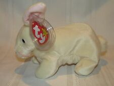 Ty Beanie Baby Nibbler Rabbit Bunny - Mint w/ Errors - Easter Collectible