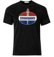 Standard Motor Oil - Graphic Cotton T Shirt Short & Long Sleeve