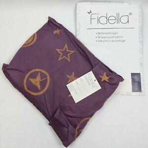Fidella Baby's Lilac Outer Space Ring Sling NEW
